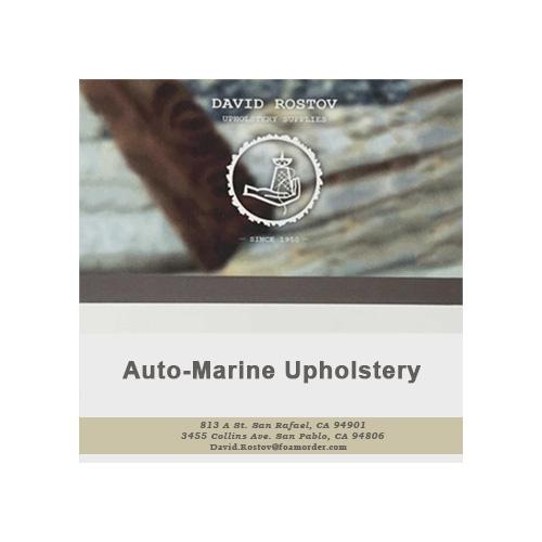 Auto Upholstery Training Dvd